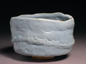 JAS Porcelain Tea Bowl from Flynn Creek Anagama