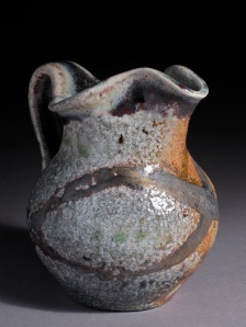 Cream Pitcher, soda fired stoneware